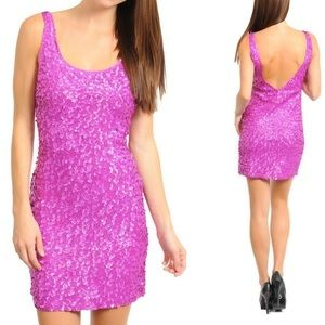 Hot pini sequin club cocktail new years eve dress